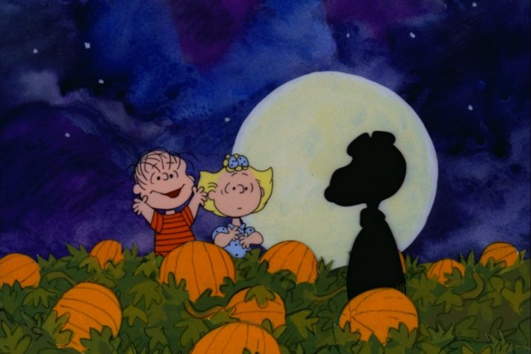 Dinner and a movie It's the Great Pumpkin Charlie Brown