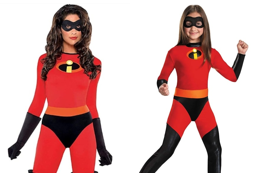 Mother daughter costume ideas The Incredibles