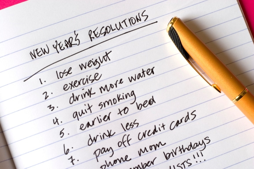 To resolve or not to resolve New Year's Resolutions