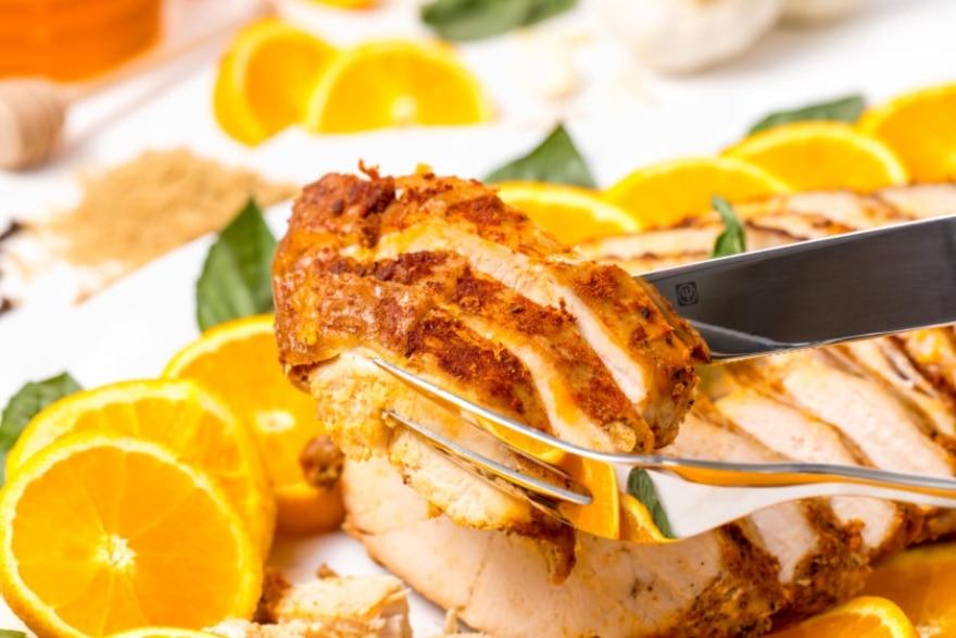 Alcohol-infused recipes orange bourbon slow-cooker turkey