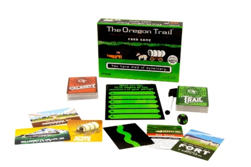 Friendsgiving games and activities Oregon Trail