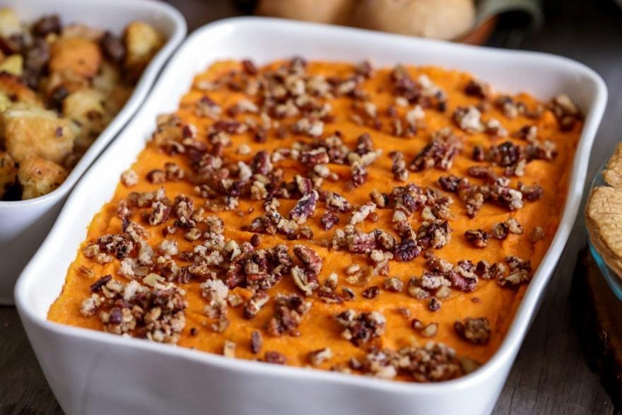 Alcohol-infused recipes bourbon sweet potato casserole