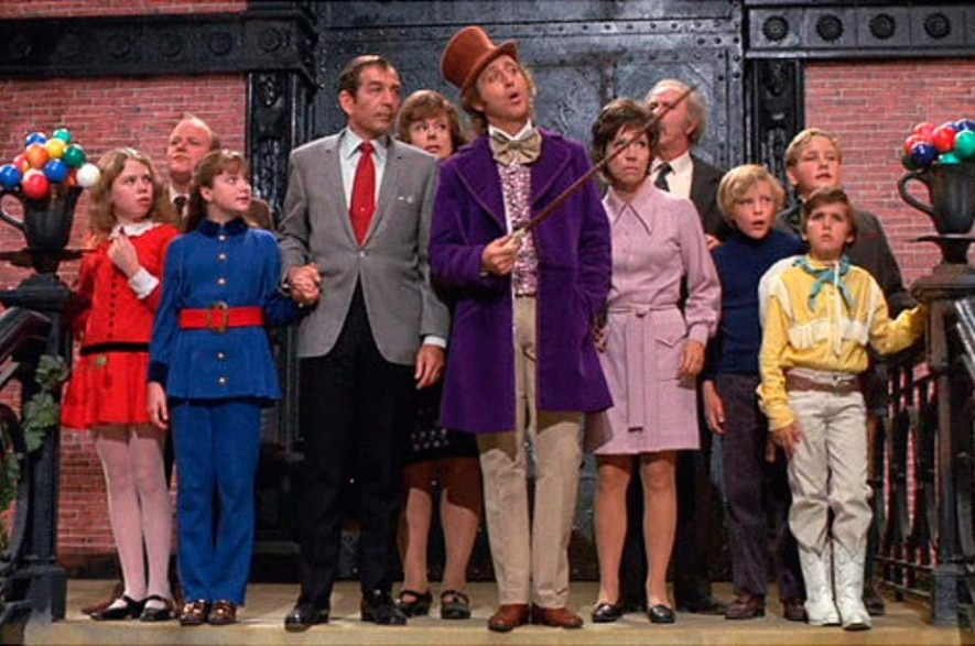 Dinner and a movie Willy Wonka & the Chocolate Factory