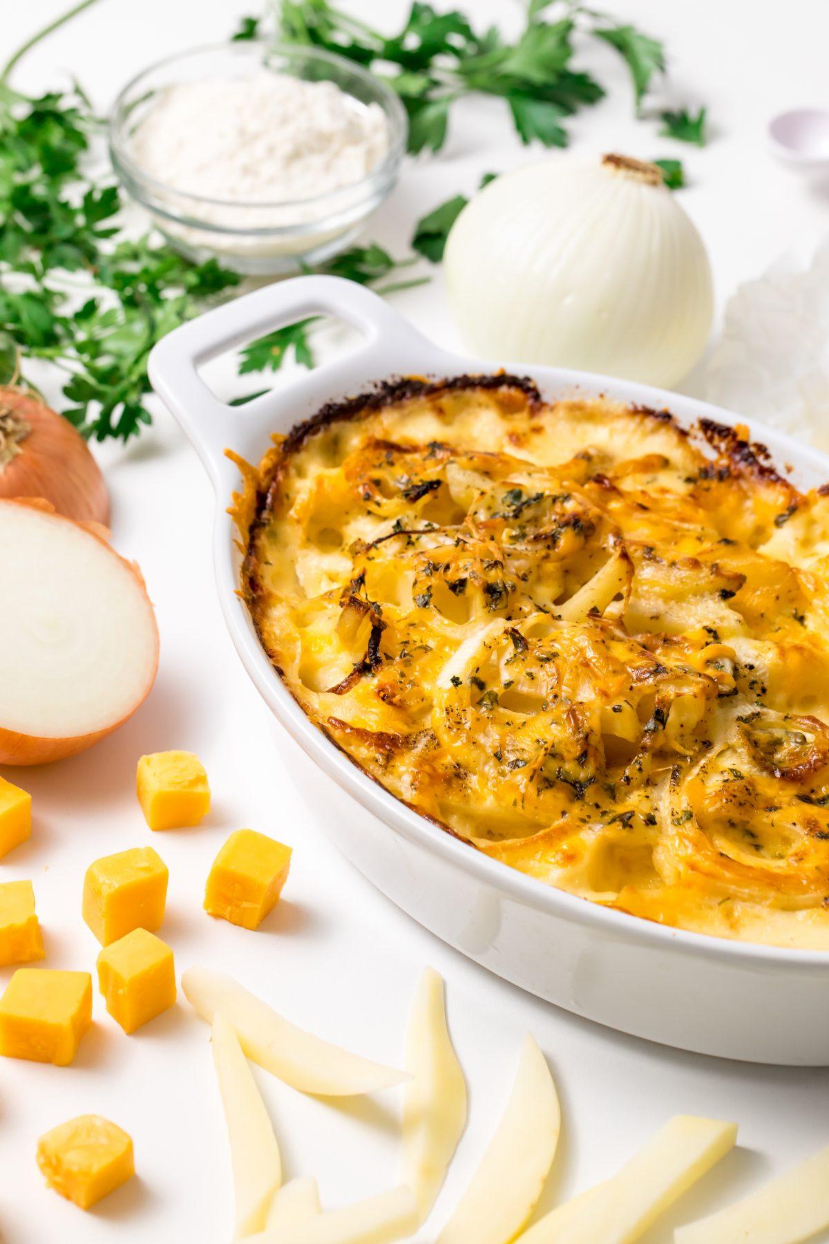 5D4B2026 - Cheesy Holiday Potatoes