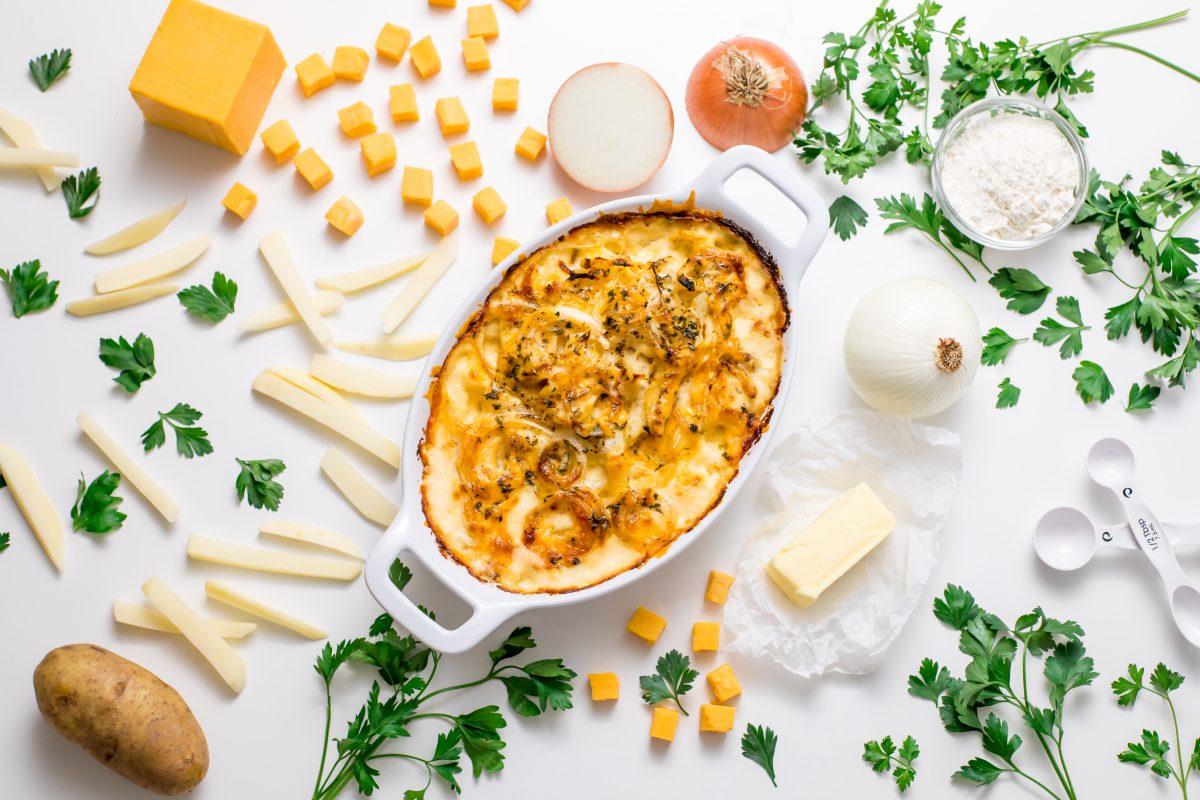 5D4B2046 - Cheesy Holiday Potatoes