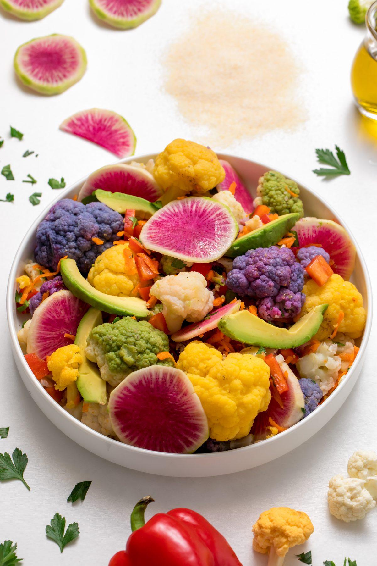 5D4B2195 - Farmer's Market Cauliflower Salad