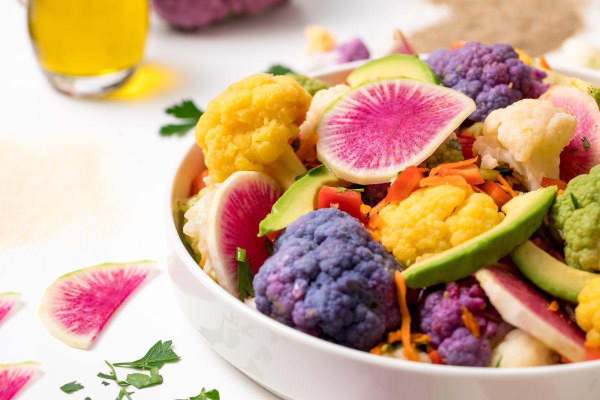 5D4B2224 - Farmer's Market Cauliflower Salad