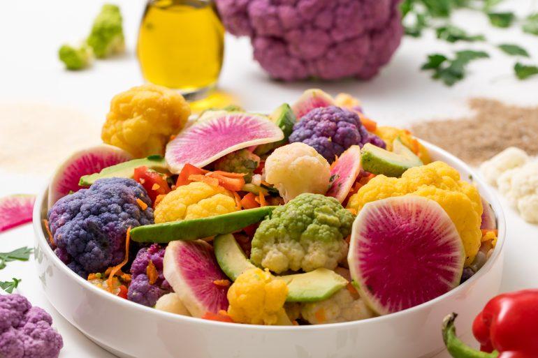 5D4B2227 - Farmer's Market Cauliflower Salad