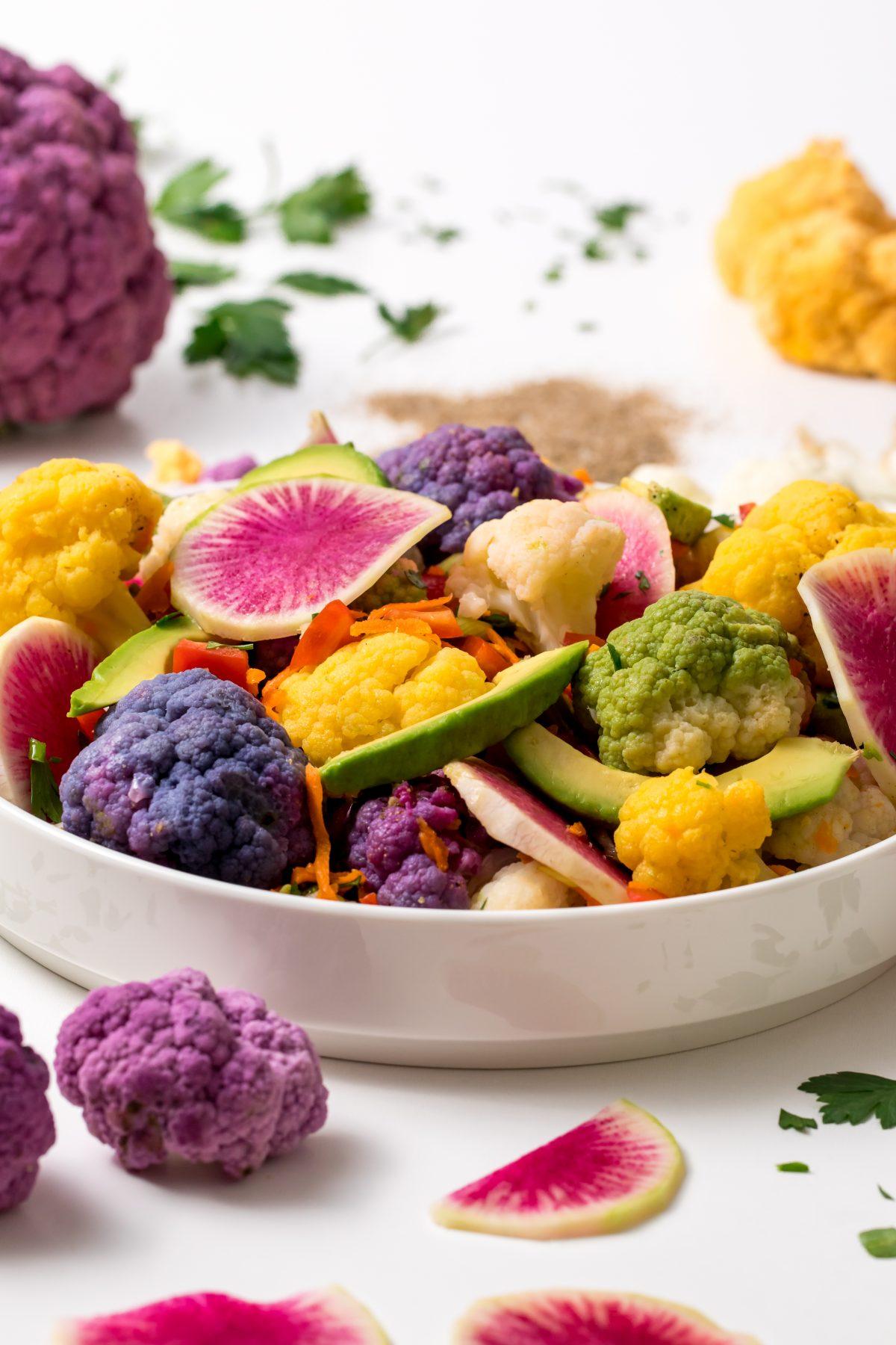 5D4B2232 - Farmer's Market Cauliflower Salad