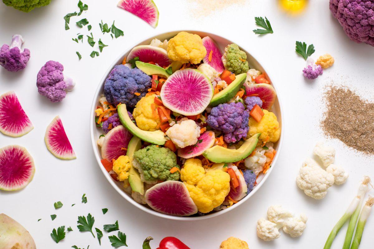 5D4B2249 - Farmer's Market Cauliflower Salad