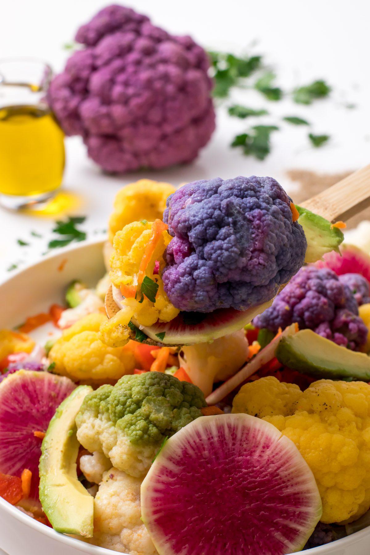 5D4B2252 - Farmer's Market Cauliflower Salad