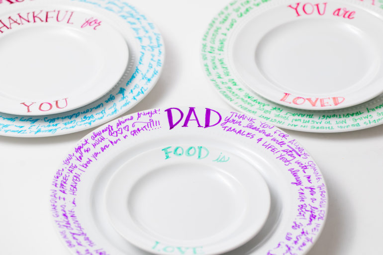 5D4B5122 - Custom Thanksgiving Plates