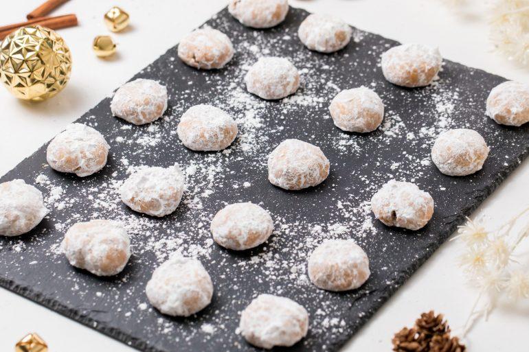 5D4B5938 - Chai Spiced Snowball Cookies