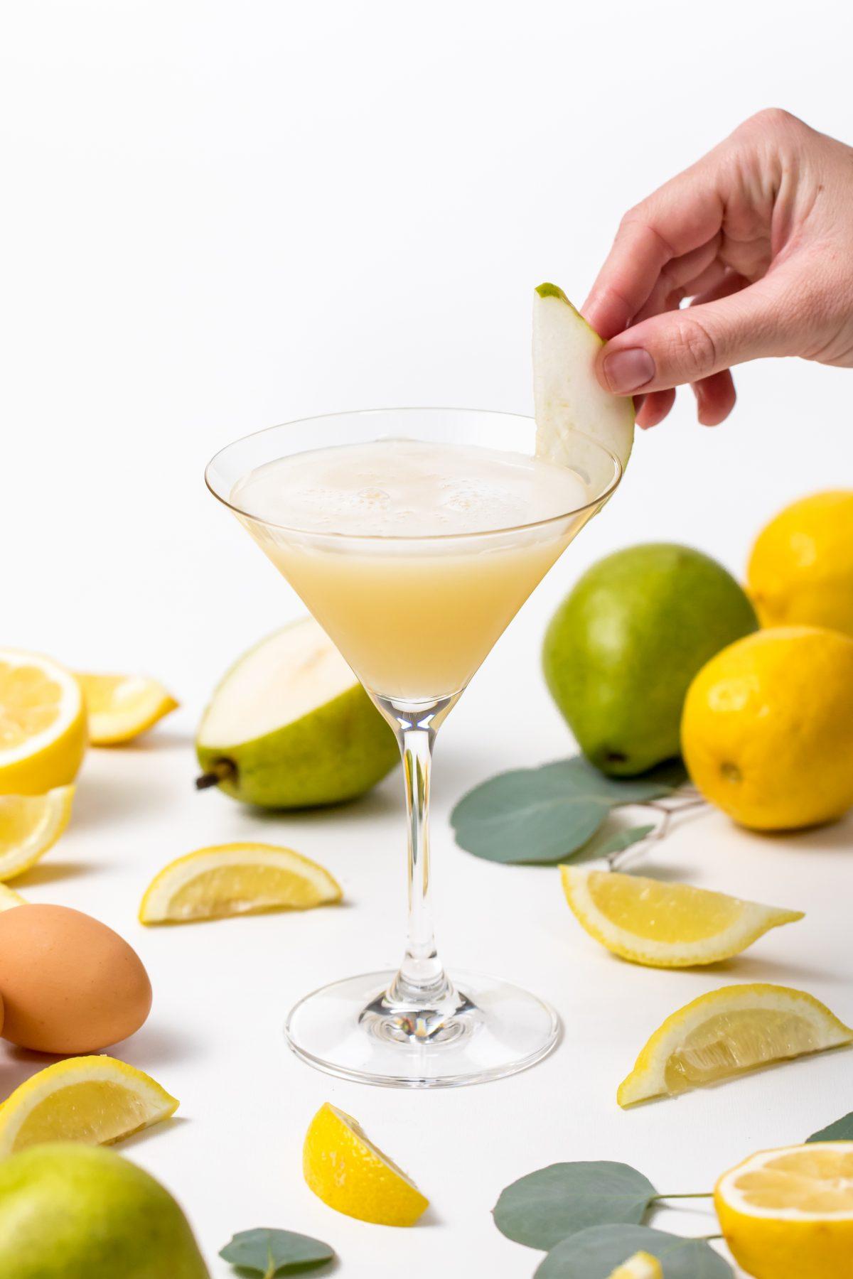 5D4B7585 - Pear Sour - Garnish