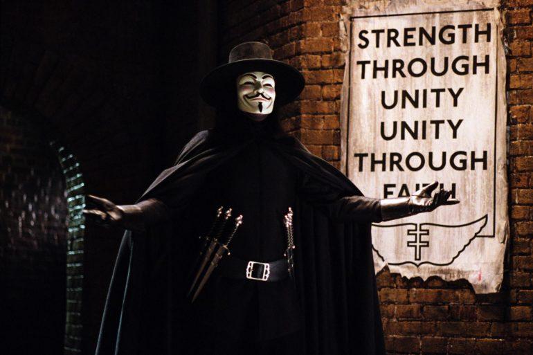 Dinner and a movie V for Vendetta