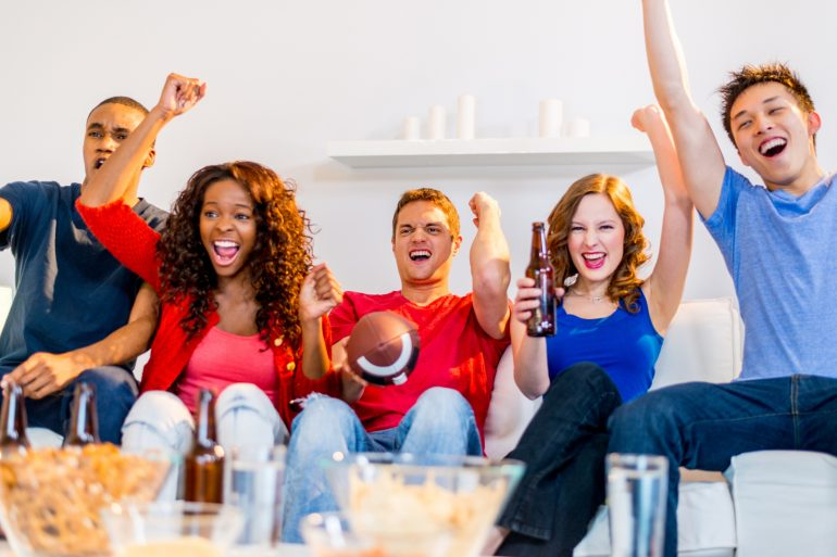 Truly unique football party ideas