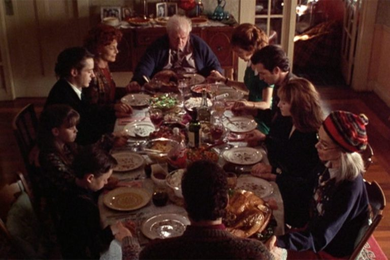 Dinner and a movie Home for the Holidays