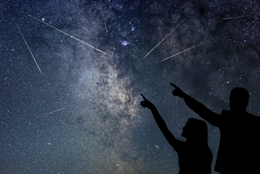 Find these constellations with your kids meteor shower