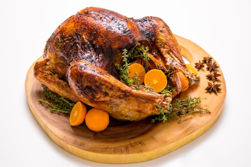 Dinner and a movie Home for the Holidays orange, anise and thyme turkey