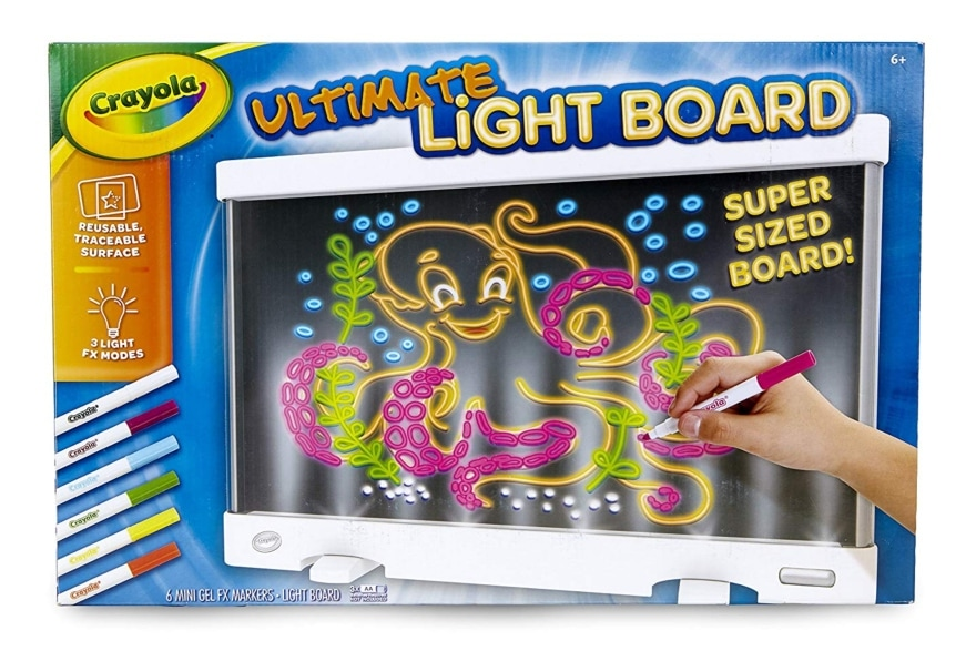 Most popular Christmas gifts Crayola Ultimate Light Board