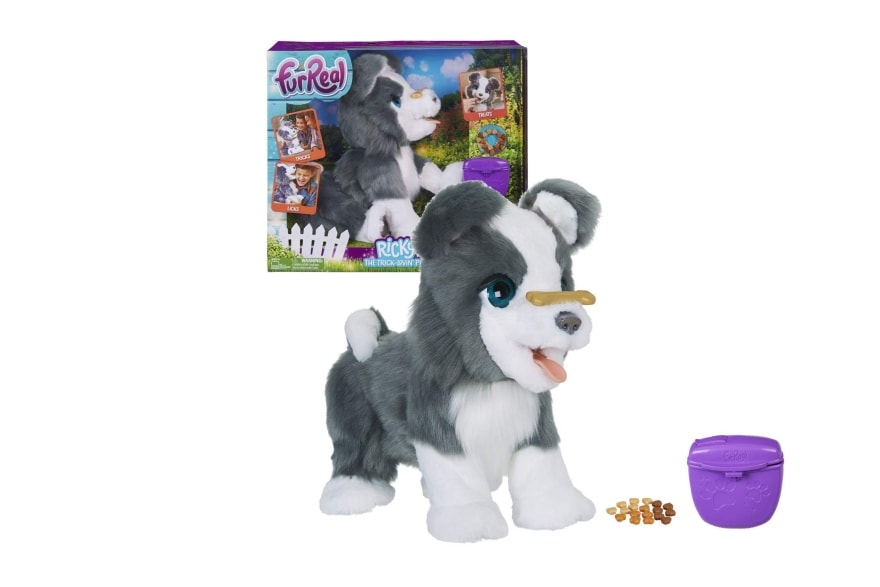 Most popular Christmas gifts FurReal Friends Ricky the Trick Lovin' Pup