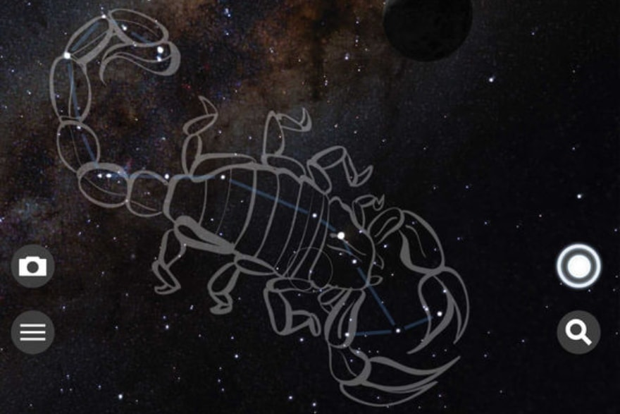 Find these constellations with your kids Skyview Lite app