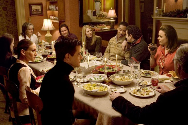 Dinner and a movie The Family Stone menu