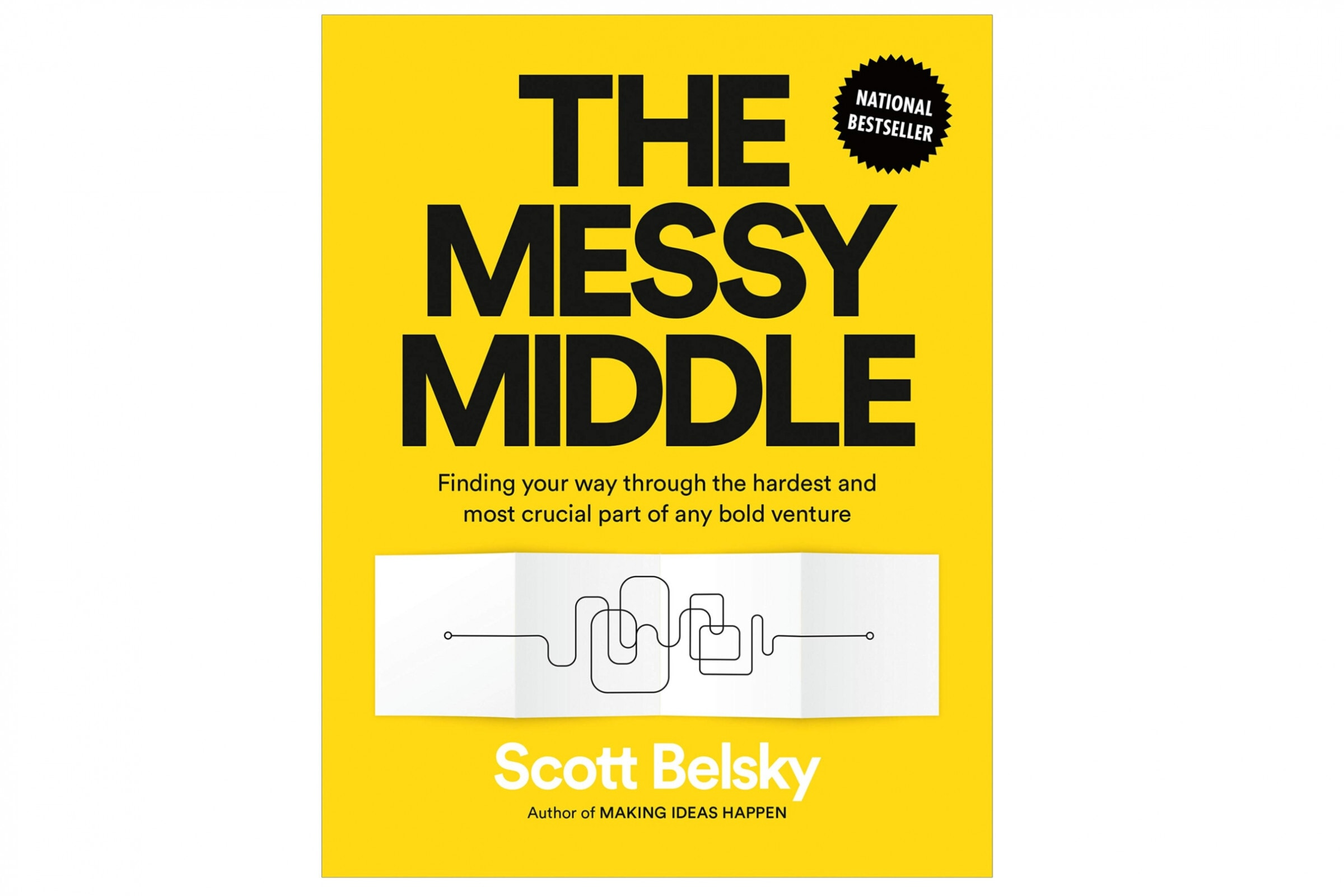Books to read to kick your New Year off right 'The Messy Middle'