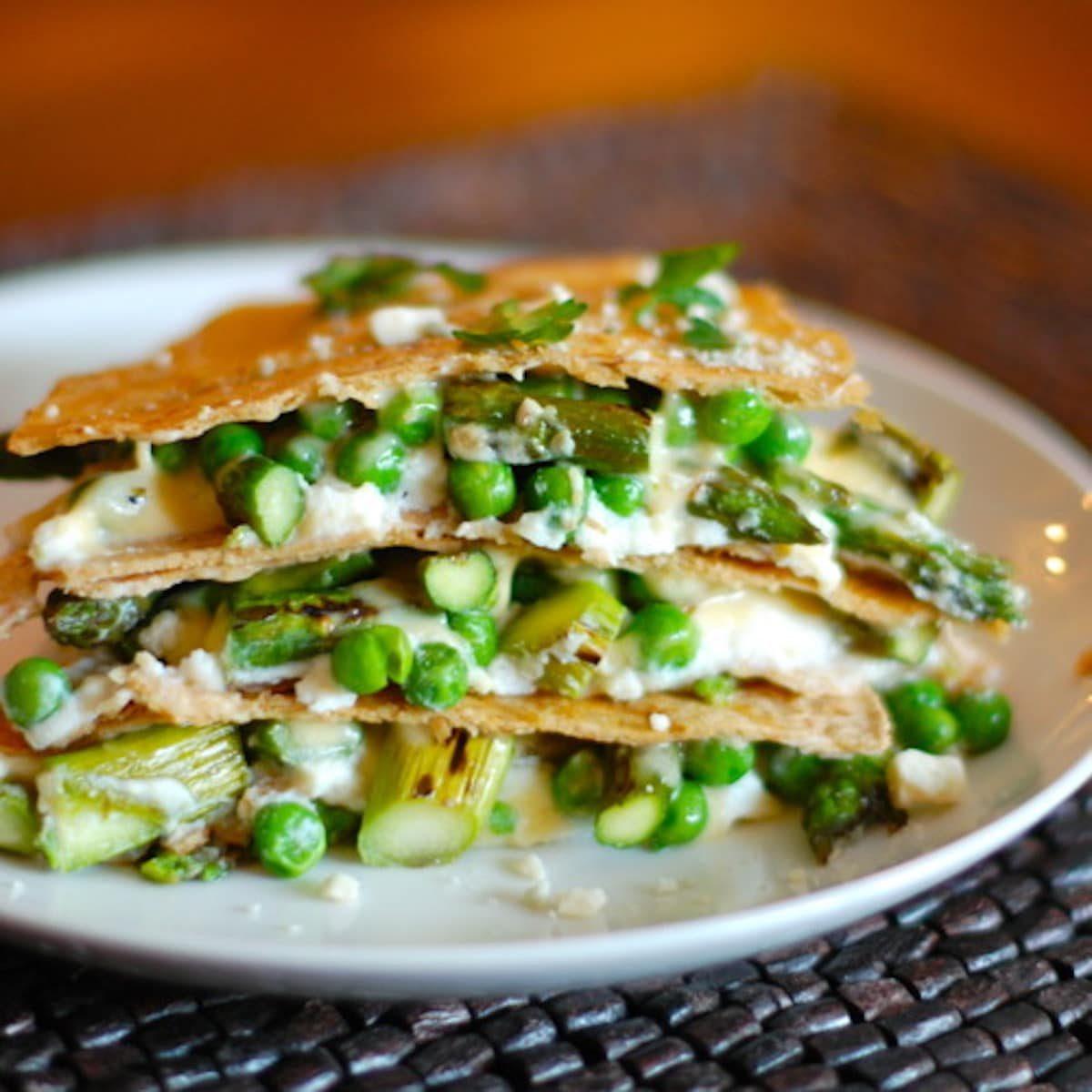 Asparagus-Quesadilla-Lasagna-Recipe