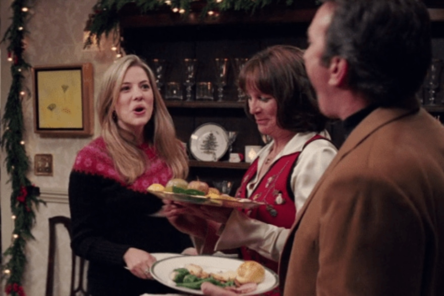 Dinner and a movie 'Christmas with the Kranks'