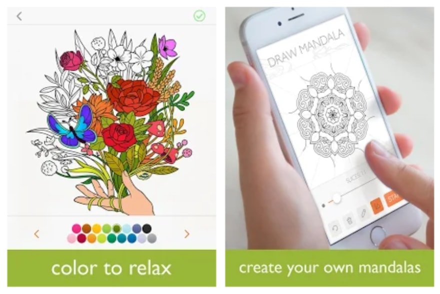 Apps and podcasts to help boost your inner peace Colorfy app