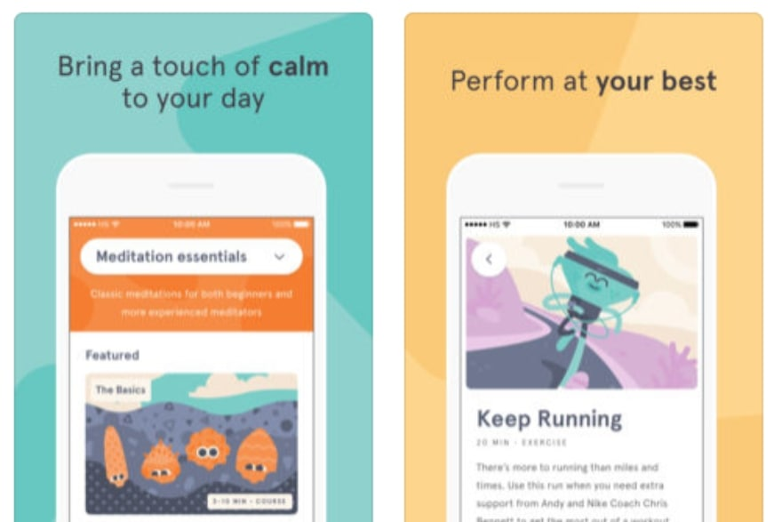 Apps and podcasts to help boost your inner peace Headspace