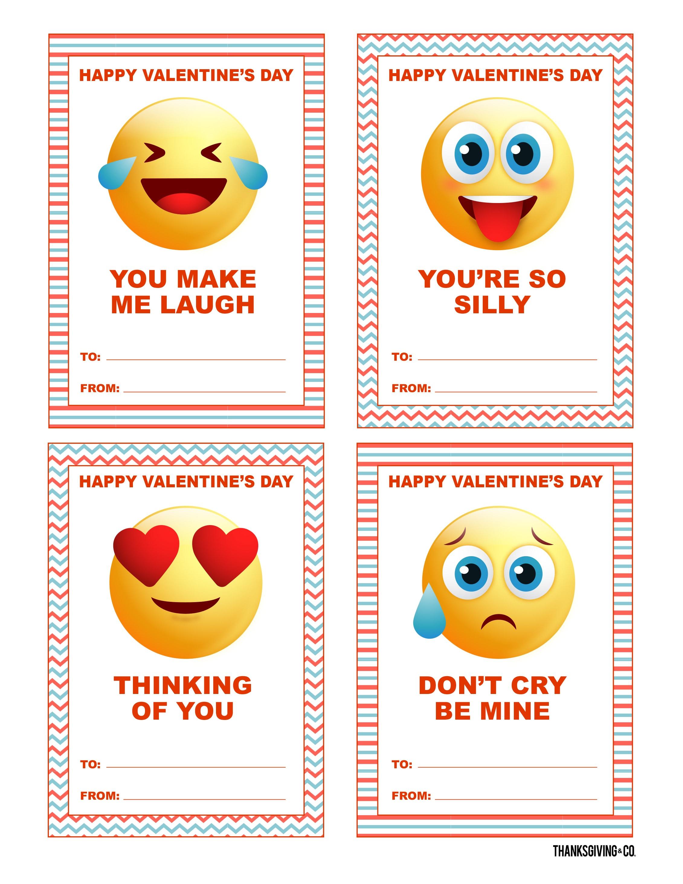 VALENTINE Cards Emojis