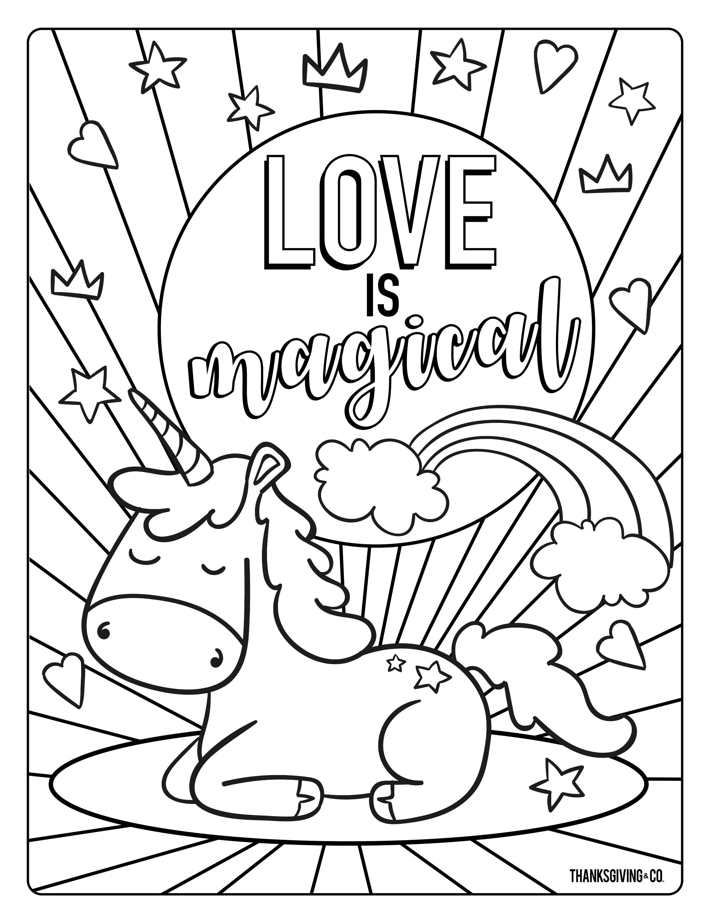 ValentineDay Coloring 1 RV