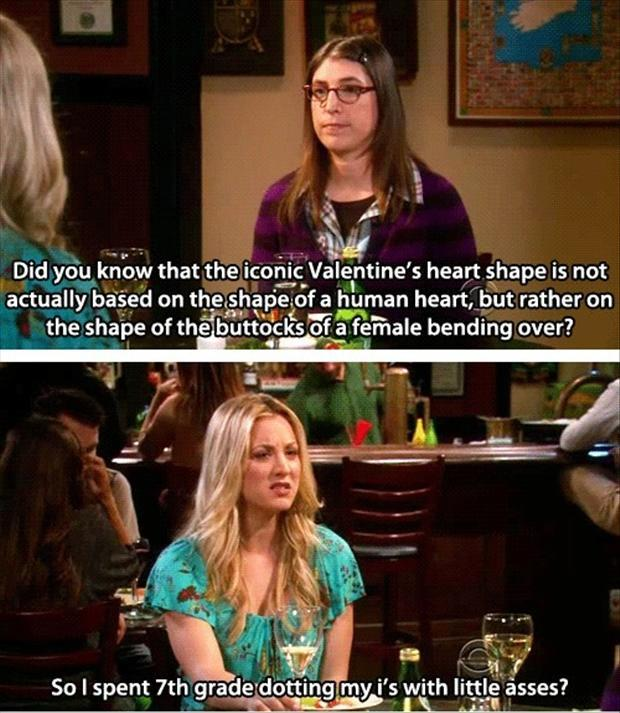 valentines-day-buttocks-shaped-heart-big-bang-theory