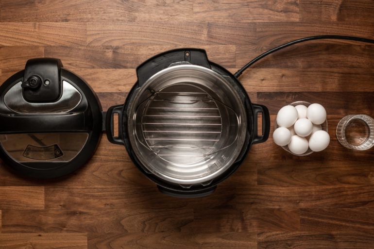 Make hard boiled eggs in an Instant Pot