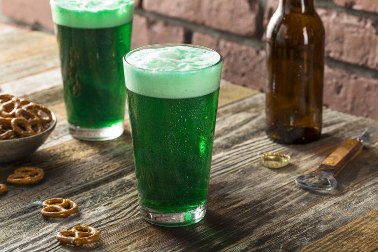 Refreshing Festive Green Beer