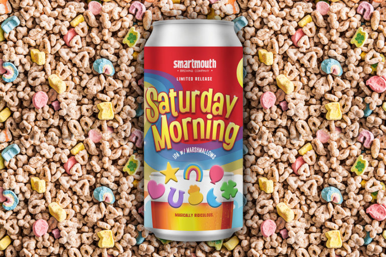 Lucky Charms-flavored beer from Smartmouth Brewing