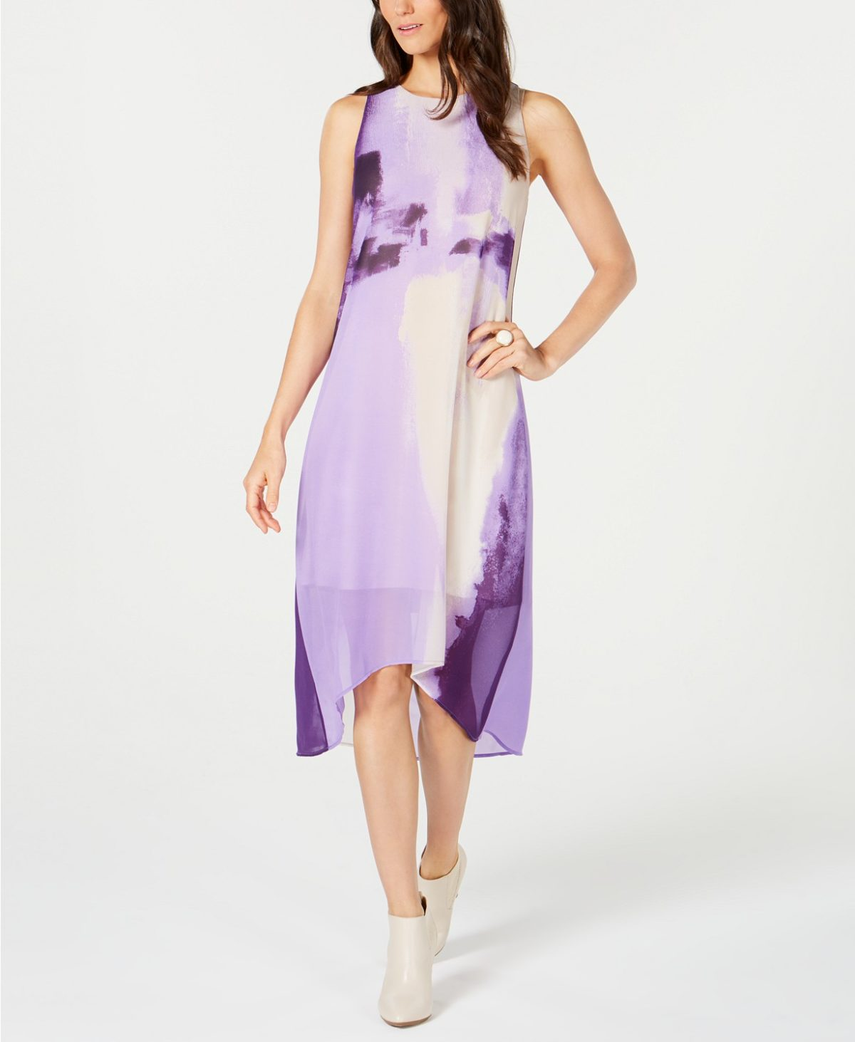 floral-print-high-low-dress-easter-fashion-for-women