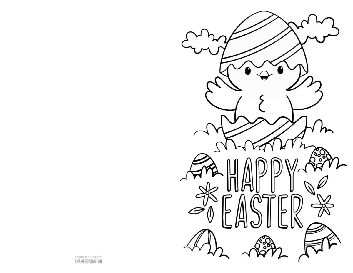 Color Easter Cards 4