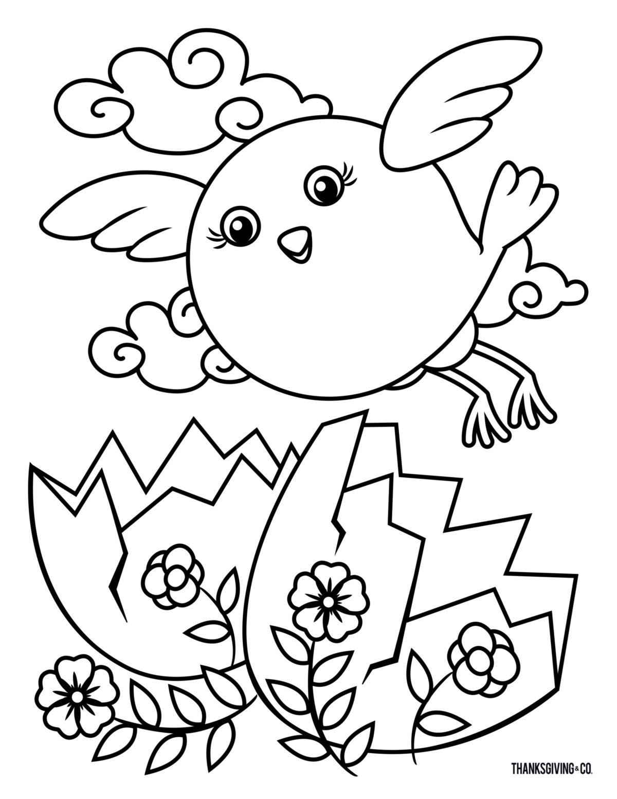 Easter ColoringBook 3