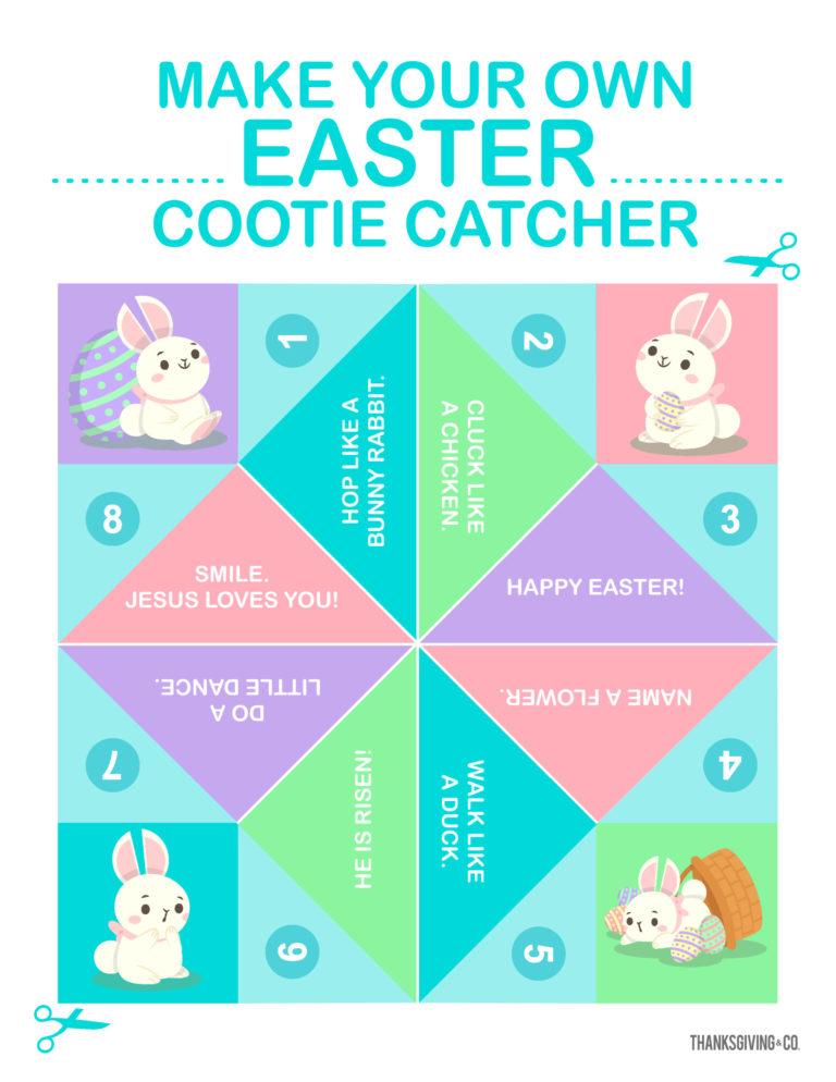 Easter CootieCatcher
