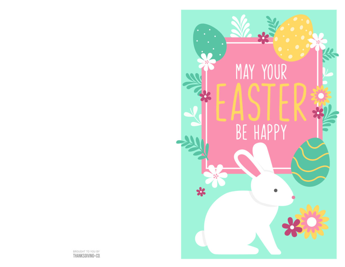 Printable Easter Cards 1