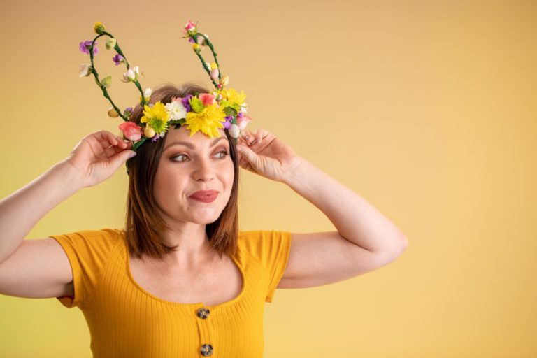 Easter Flower Crown