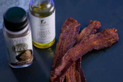 Truffle bacon