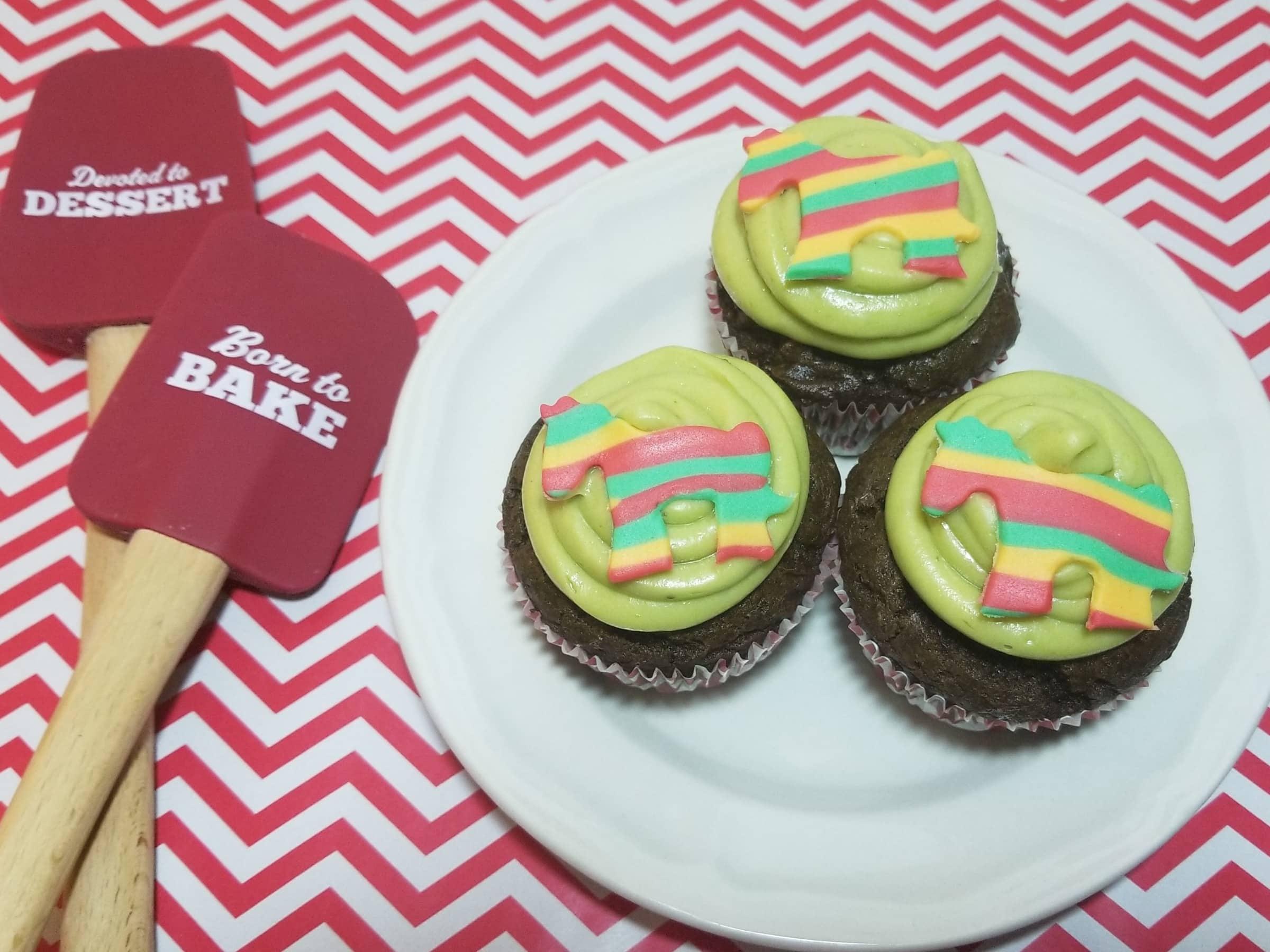 Avocado cupcakes 1