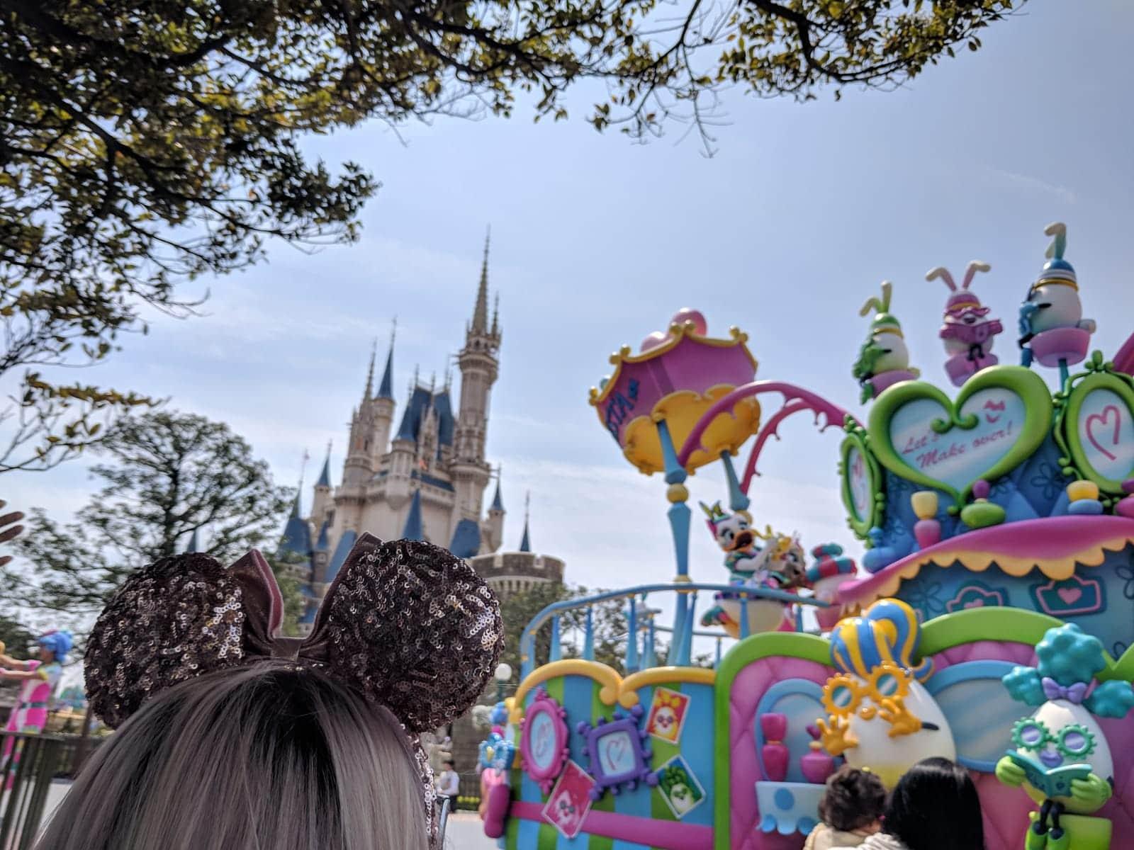 Easter Tokyo Disneyland Parade