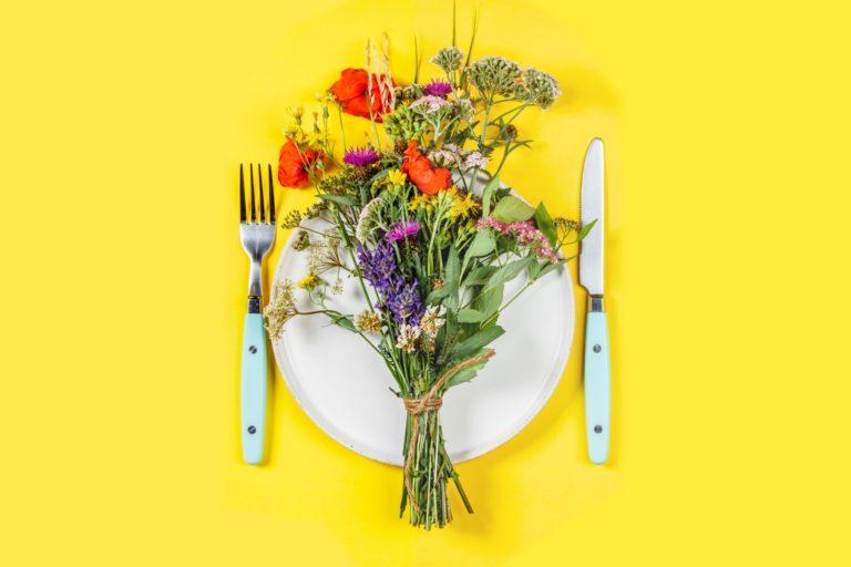 Edible Flower Bouquet