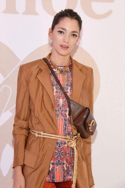 Sofia de Betak at Paris Fashion Week
