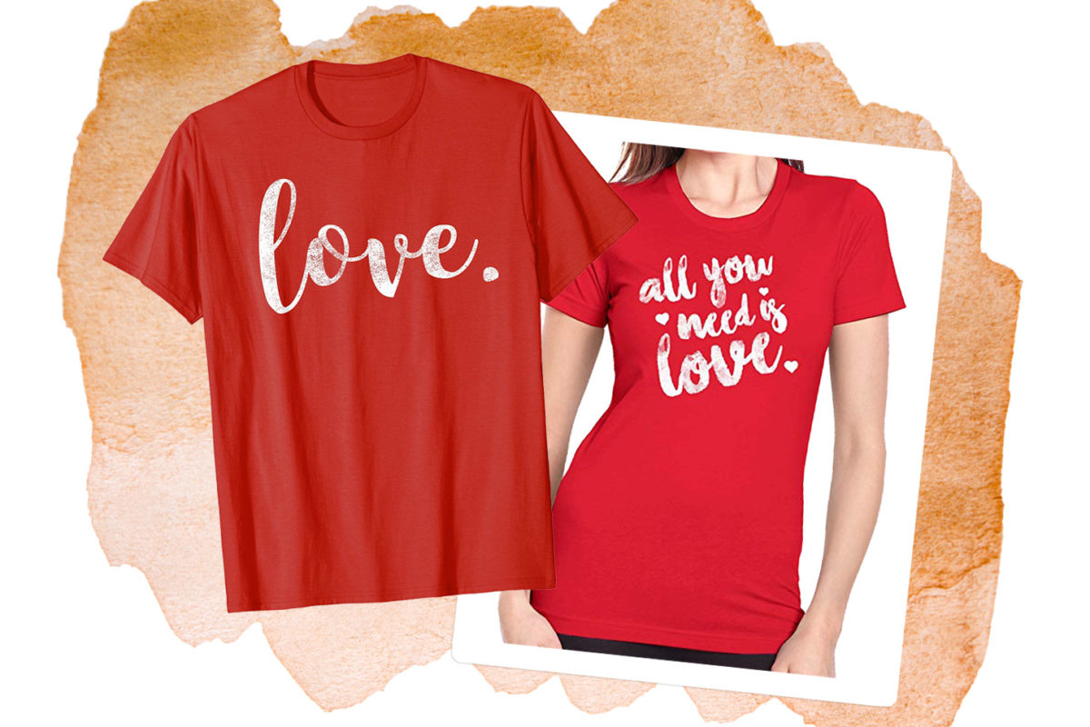 Love mother-daughter shirts